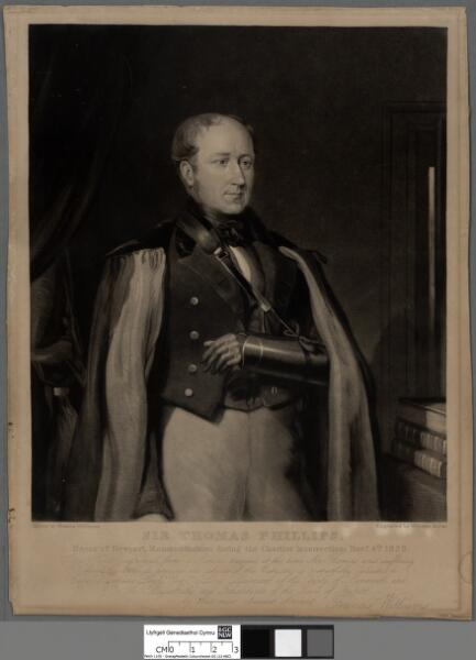 Sir Thomas Phillips Mayor of Newport,...