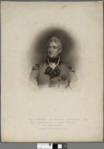 Lieut. General Sir Thomas Picton, K.B