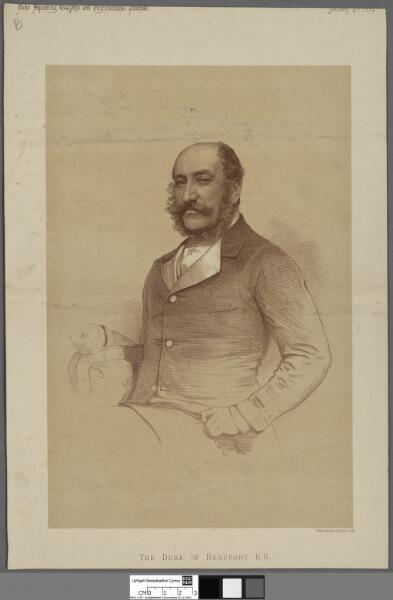 The Duke of Beaufort, K.G