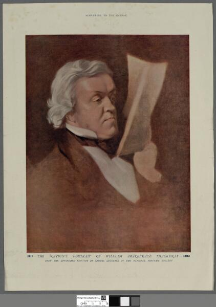 The nation's portrait of William Makepeace...