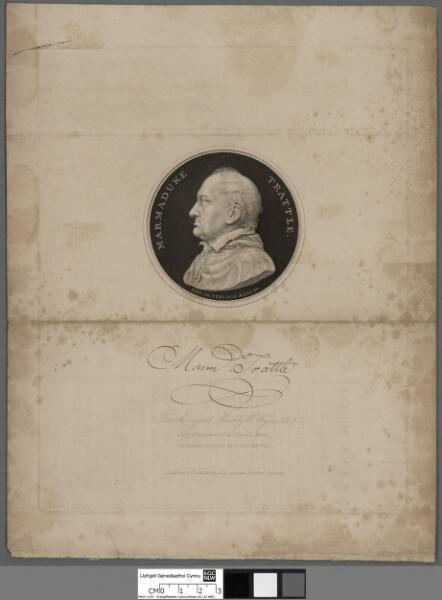 Marmaduke Trattle obit 26 Sep. 1831 aetat 80