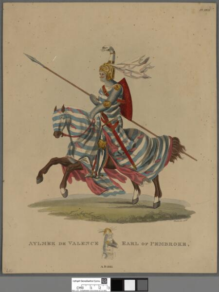 Aymer de Valence, Earl of Pembroke, A.D. 1315