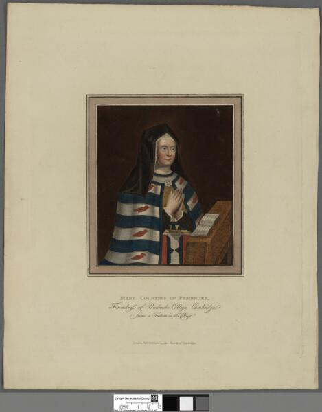Mary Countess of Pembroke Foundress of Pembroke...