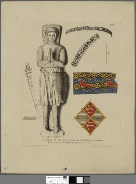 William de Valence, Earl of Pembroke, died 1304...