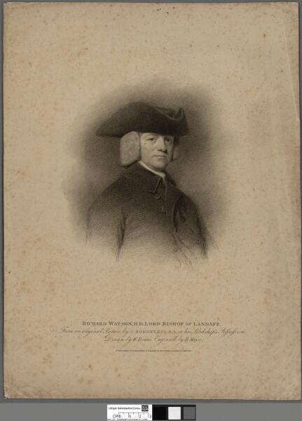 Richard Watson, D.D. Lord Bishop of Landaff