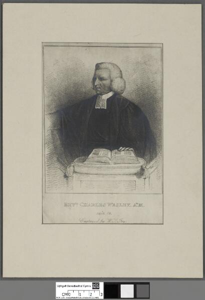 Revd. Charles Wesley, A.M aged 76