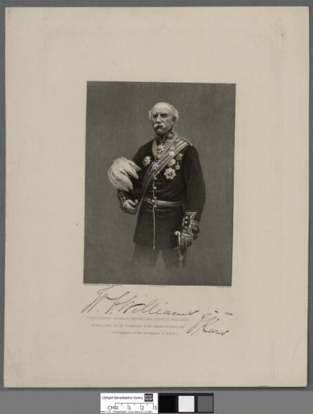 Lieutenant General Sir William Fenwick Williams...