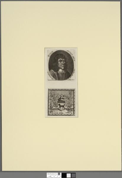 Antonius Wood -- antiquarius ob. 28 Nov. Ao....