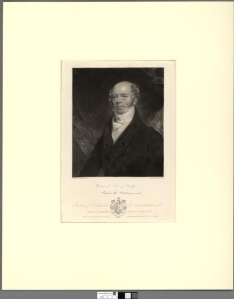 Edward Hamlin Adams Member of Parliament for...