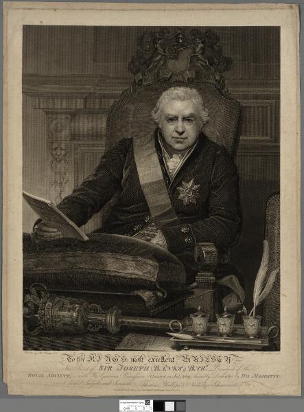 Print of Sir Joseph Banks, Bart