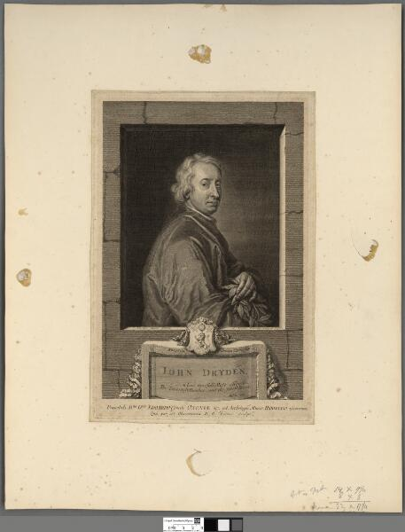 John Dryden, whose tunefull muse affords the...