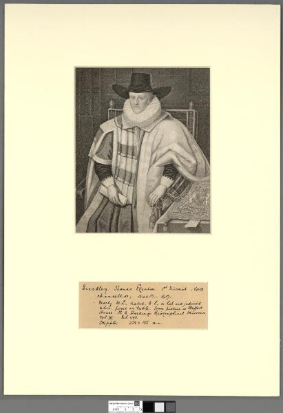 To the Honble. and Revd. Francis Henry Egerton,...