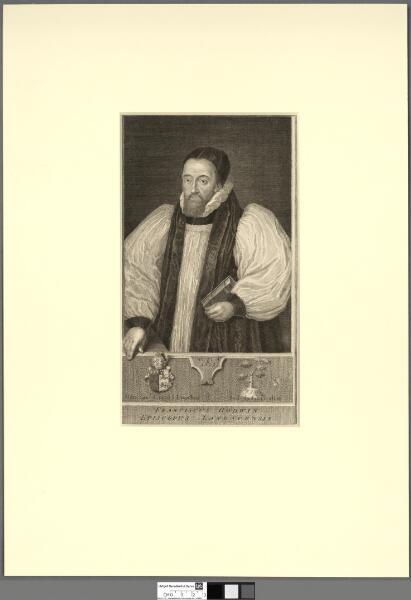 Franciscus Godwin Episcopus Landavensis aet. 51...