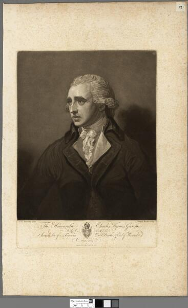 The Honourable Charles Francis Greville F.R.S. ...