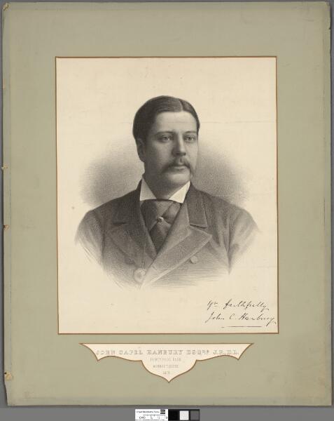 John Capel Hanbury Esqre. J.P., D.L., Pontypool...