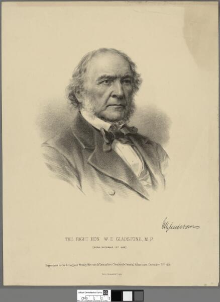 The Right Hon. W. E. Gladstone, M.P. (born...