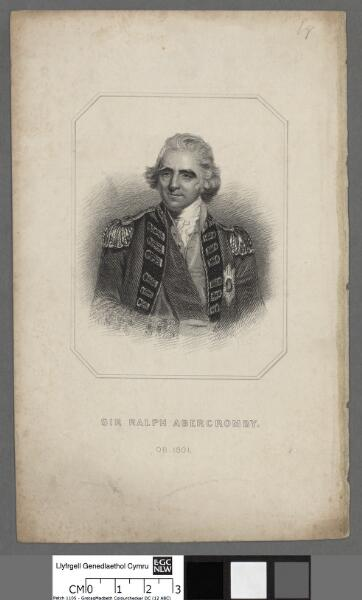 Sir Ralph Abercromby ob. 1801