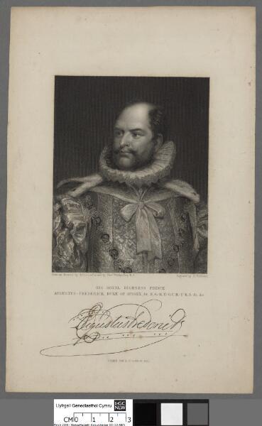 His Royal Highness Prince AugustuS - Frederick...