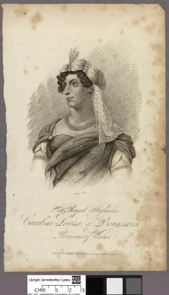 Her royal highness Caroline Louisa of Brunswick...