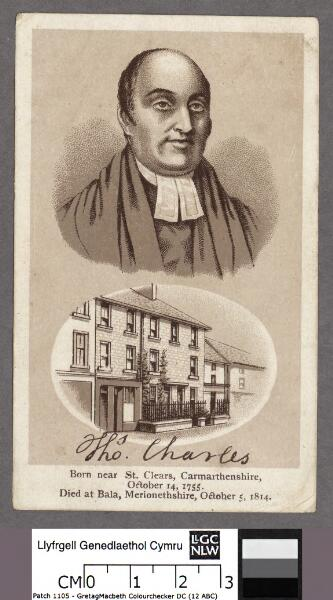 Thos. Charles born near St. Clears,...