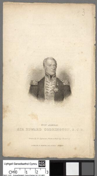 Vice Admiral Sir Edward Codrington G.C.B