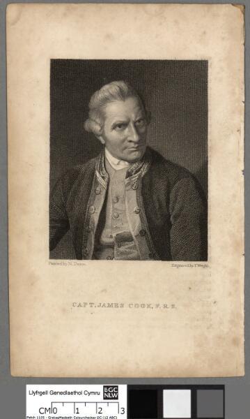 Capt. James Cook, F.R.S