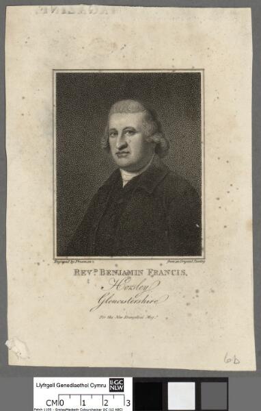 Revd. Benjamin Francis, Horsley, Gloucestershire