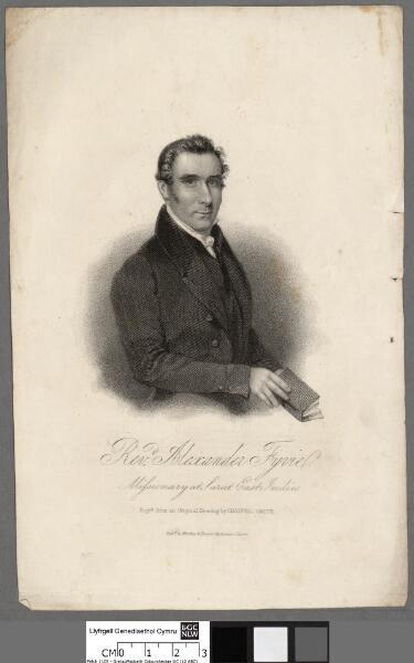 Revd. Alexanderv Fyvie, missionary at Surat...