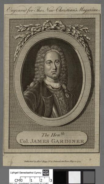 The Honble. Col. James Gardiner