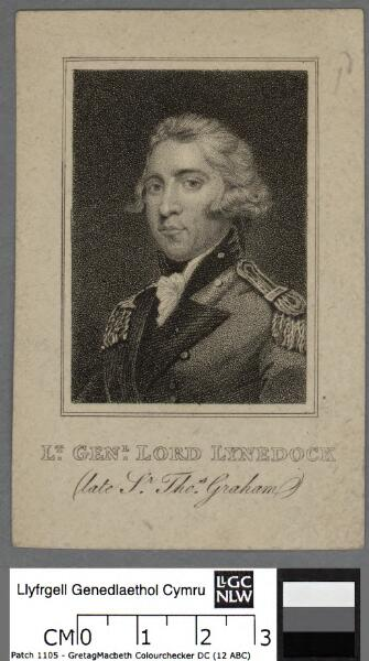Lt. Genl. Lord Lynedock (late Sr. Thos. Graham)