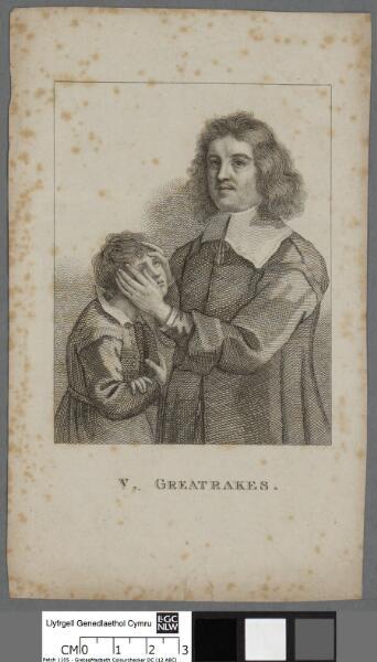 V. Greatrakes esqr