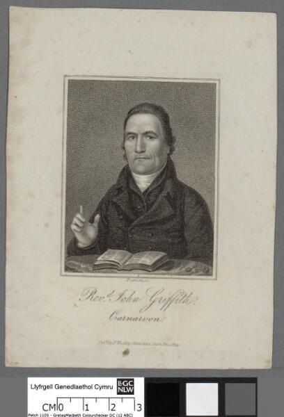 Revd. John Griffith, Carnarvon