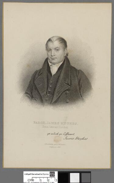 Parch. James Hughes, Jewin Crescent Llundain