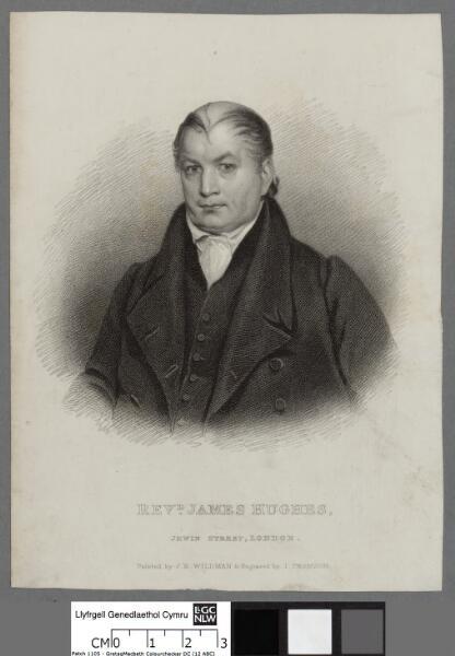 Revd. James Hughes, Jewin Street, London