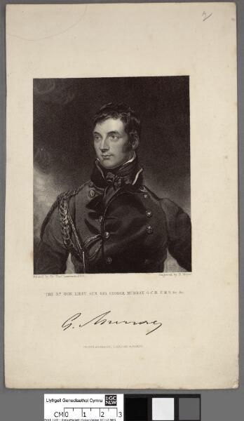 The rt. hon lieut. gen. sir George Murray G.C.B...