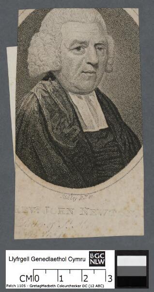 Revd. John Newton Rector of St. Mary Woolnoth
