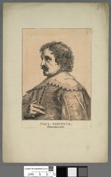 Paul Pontius Flourished 1624