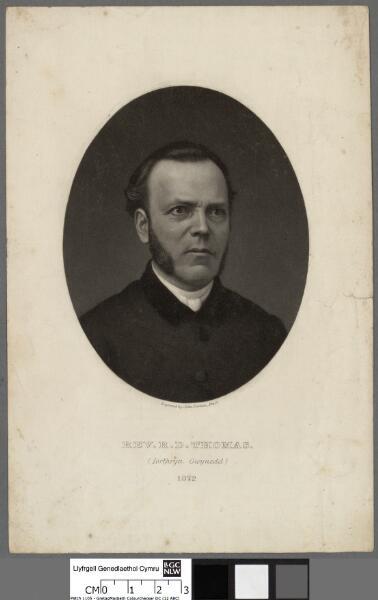 Revd. R. D. Thomas (Iorthryn Gwynedd) 1872
