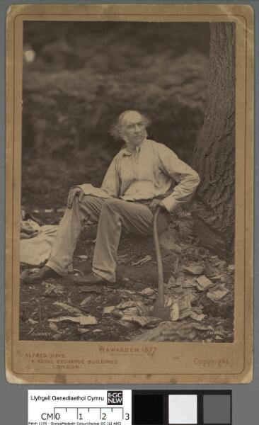 Hawarden 1877 William Gladstone