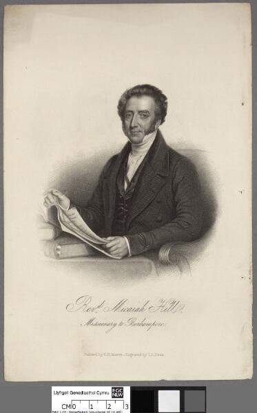 Revd. Micaiah Hill, Missionary to Berhampore