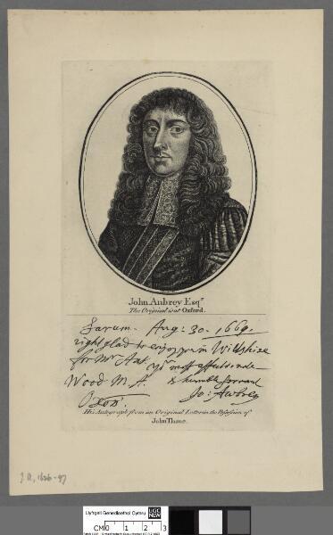 John Aubrey Esqr