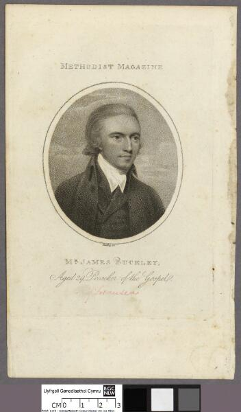 Mr. James Buckley, aged 29 Preacher of the Gospel