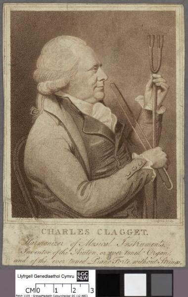 Charles Clagget harmonizer of musical...
