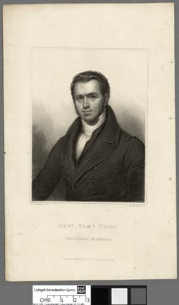 Revd. Emd. Crisp, missionary to Madras