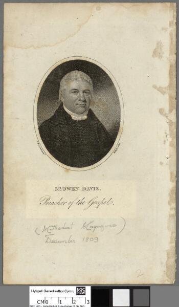 Mr. Owen Davis Preacher of the Gospel