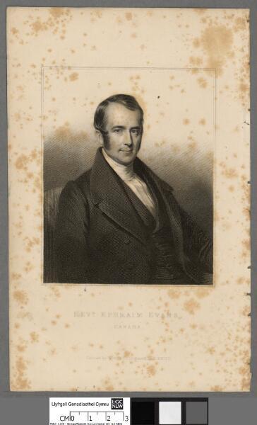 Revd. Ephraim Evans, Canada