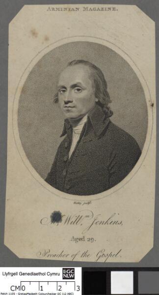 Mr. Willm. Jenkins, aged 29 preacher of the Gospel