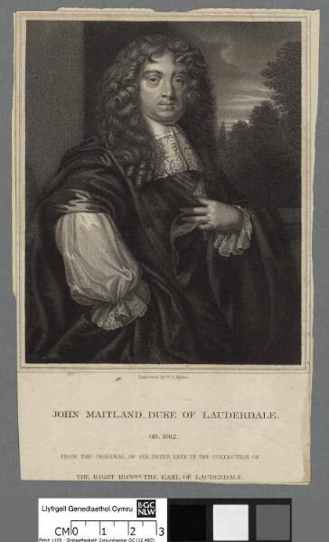 John Maitland, Duke of Lauderdale ob. 1682
