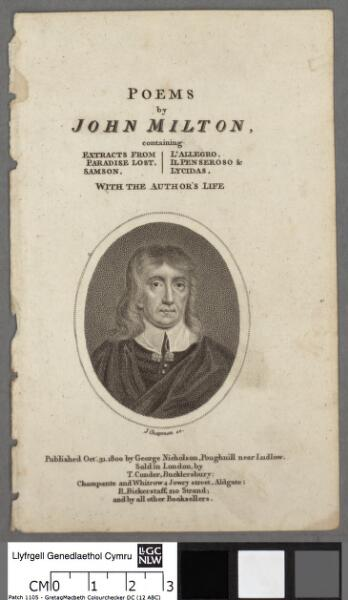Poems by John Milton containing extracts from...