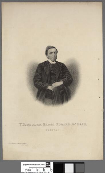 Y diweddar Barch. Edward Morgan, Dyffryn